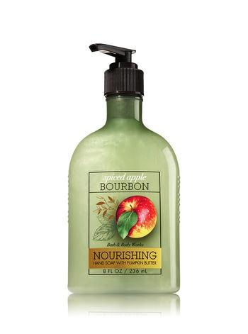 http://www.bathandbodyworks.com/p/spiced-apple-bourbon-hand-soap-with-pumpkin-butter-023447547.html?cgid=hand-soap-promotion#start=13